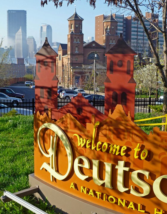 Deutschtown-sign